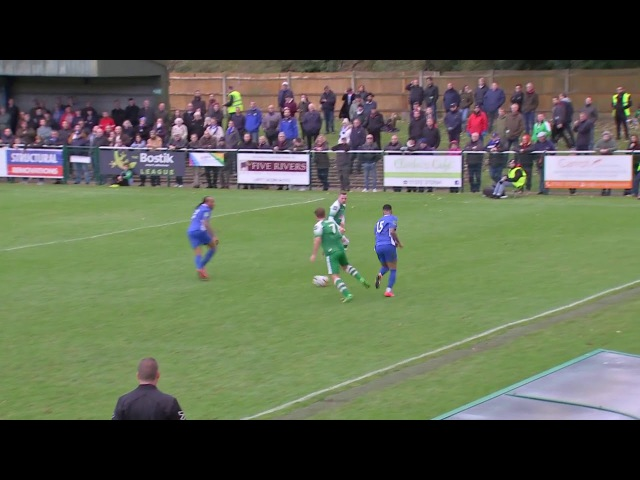 Leatherhead FC 1 1 Billericay Town FC Highlights The Emirates FA Cup 2017 18