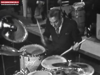 Gene Krupa + Sammy Davis Jr - DRUM BATTLE