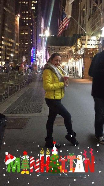 Діанка Андрушко, New York City, США