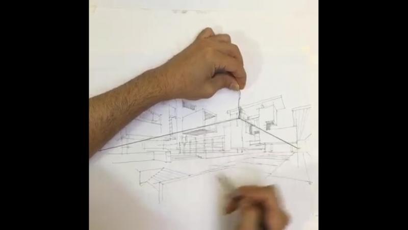 Nih Tommy Dhang Imam biar gampang gambar perspektif