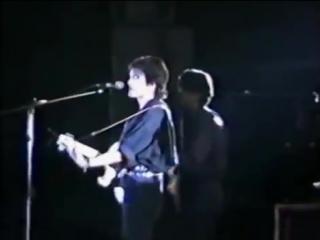 Алюминиевые огурцы Концерт в Уфе Live 1990 Виктор Цой группа Кино