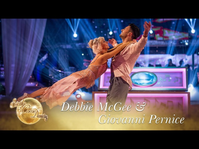 Debbie McGee Giovanni Pernice Showdance to One Day I'll Fly Away Final 2017