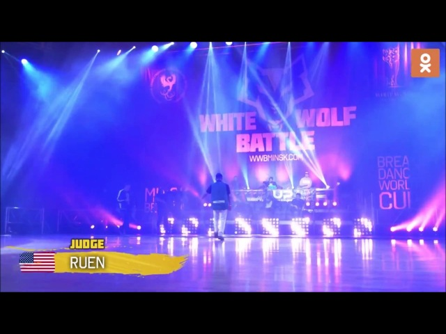 Ronnie Ruen ➮ Killafornia [Judge Showcase] ▷WHITE WOLF BATTTLE◁ BELARUS 2018