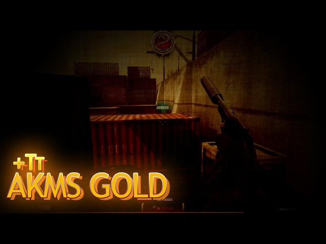 Contract Wars AKMS Gold on Bay5