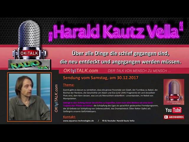 Harald Kautz Vella Dinge die schief laufen Radio OKITALK 3 1 2018