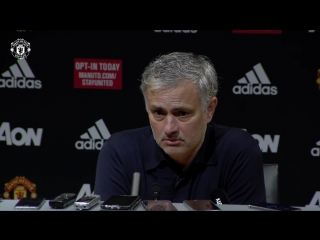 Jose Mourinho Press Conference - Manchester United 0-1 West Brom