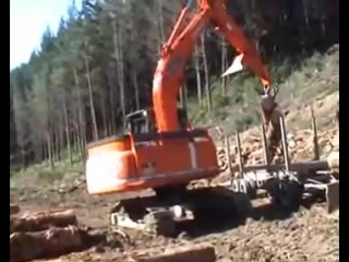 Hitachi Zaxis 280 L Logger