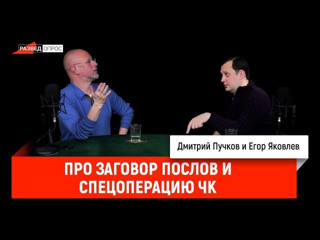 Егор Яковлев про заговор послов и спецоперацию ЧК
