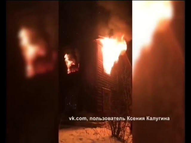 На Хромпике горел еще один барак