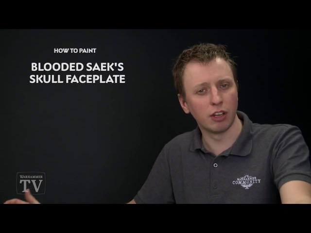 WHTV Tip of the Day Blooded Saek's Skull Faceplate