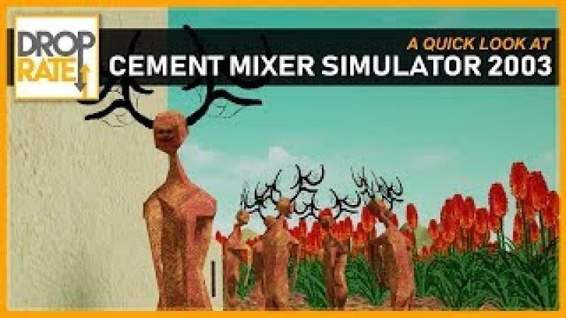 Cement Mixer Simulator 2003 (Itch.io, Free)