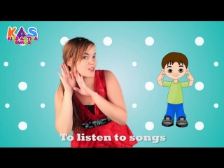 My eyes nose mouth ears - action songs for children - kids action songs(1)