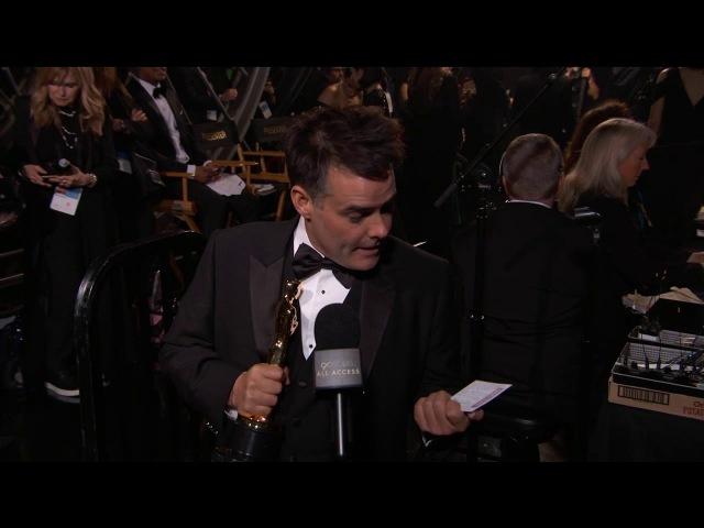 Оскар 2018 Sebastian Lelio Oscars Acceptance Speech Thank You Cam 2018