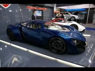 Русская машина, с названием Маруся. Видимо, автомобиль был назван в честь бабушки производителя