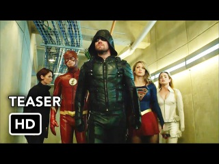 DCTV Crisis on Earth-X Crossover Teaser - The Flash, Arrow, Supergirl, DC's Legends of Tomorrow (HD)