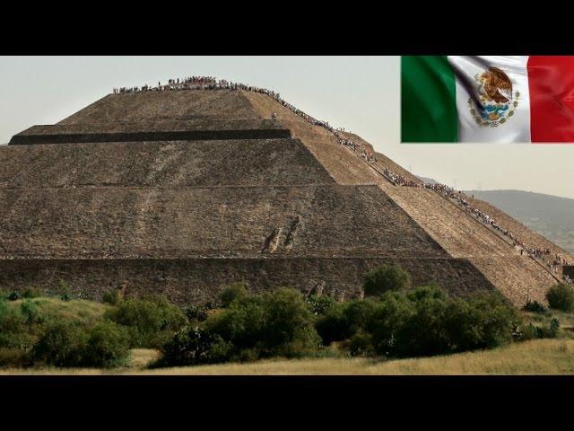 Esto es México La Ciudad de los Dioses Grandiosas Piramides de Teotihuacán