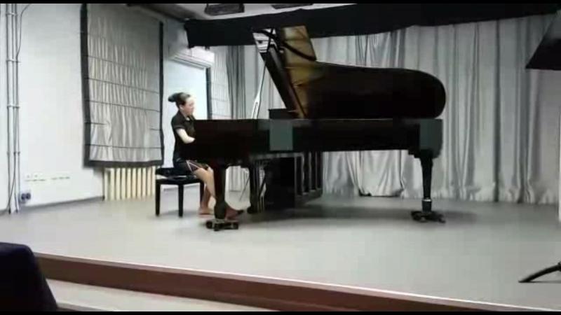Э Григ Импровизация на норвежские народные мелодии