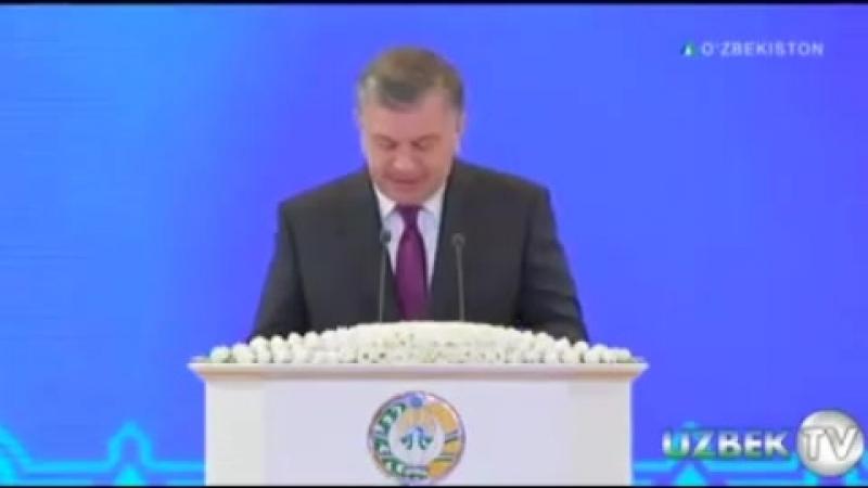 Ўзбекистон Республикаси Президенти Шавкат Мирзиёевнинг Халқаро хотин қизлар байрамига бағишланган учрашувдаги нутқи 👇