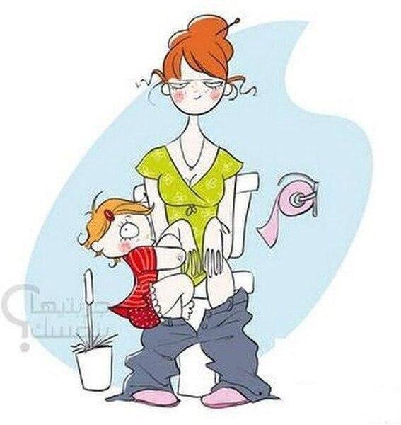 мама и дочка картинки юмор этой стадии