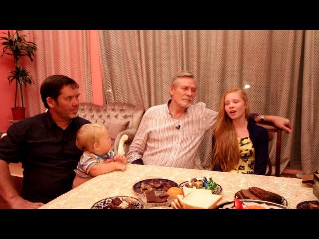 Дочка Александра Михайлова Алина исполняет песню в гостях у Исмагила Шангареева Шарджа ОАЭ