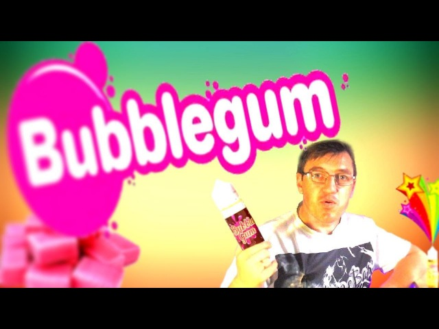 Этож Bubble Gum ЖУВНЁМ жижона MaxVBar