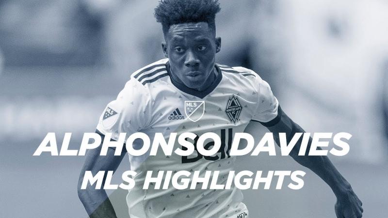Alphonso Davies FC Bayern Record Breaking Transfer MLS highlights