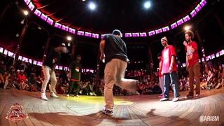 Supreme Cercle Underground Hip Hop 1/4 Final Ghetto Style Vs Bad Newz