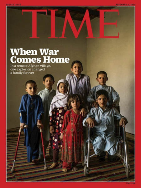 Time Magazine International Edition 11.5.1018