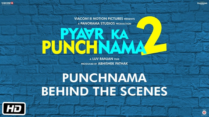 Punchnama behind the scenes