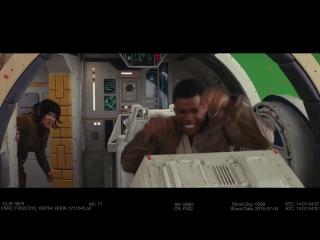 К выходу фильма Звездные войны: Последние джедаи представили забавную нарезку со съёмок