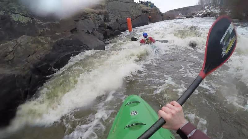 Ledokol kayak cross