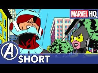 Человек-муравей и оса не на свидании! marvel человек-муравей эпизод 6 - не свидание | marvels ant-man