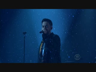 Linkin park - invisible (the late late show with james corden 2017)