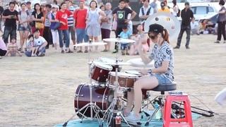 Drummer - La Tiểu Bạch-  -Sexy Love ---CHẤT!