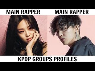 KPOP GROUPS PROFILES   BIGBANG & BLACKPINK