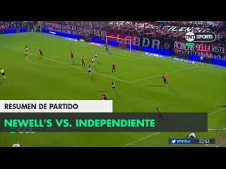 Resumen de newells vs independiente (2-2) _ fecha 2 - superliga argentina 2018_