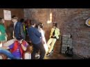 Backstage со сьемок рекламного видео ролика игровой консоли Piga