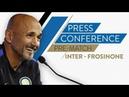 INTER vs FROSINONE | Luciano Spalletti Pre-Match Press Conference LIVE