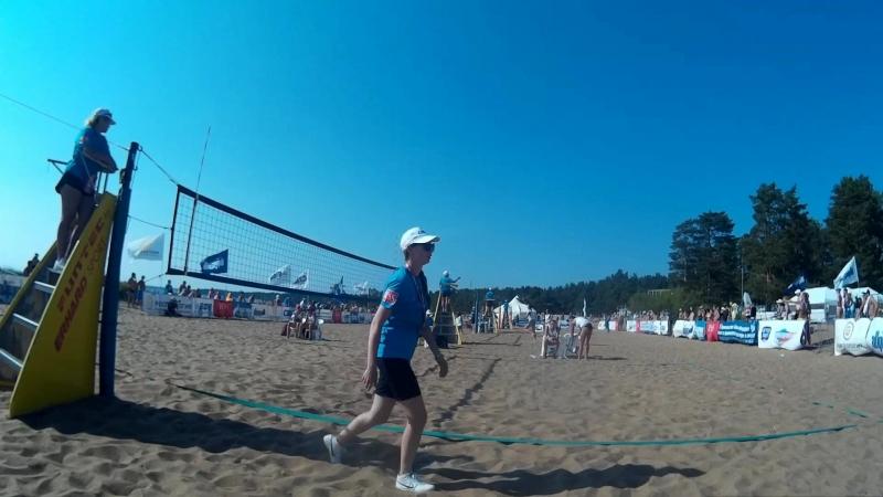 Beach volley Russia Solnechnoe 2018 W 08 Frolova-Scheglova and Tsyganova-Terentyeva
