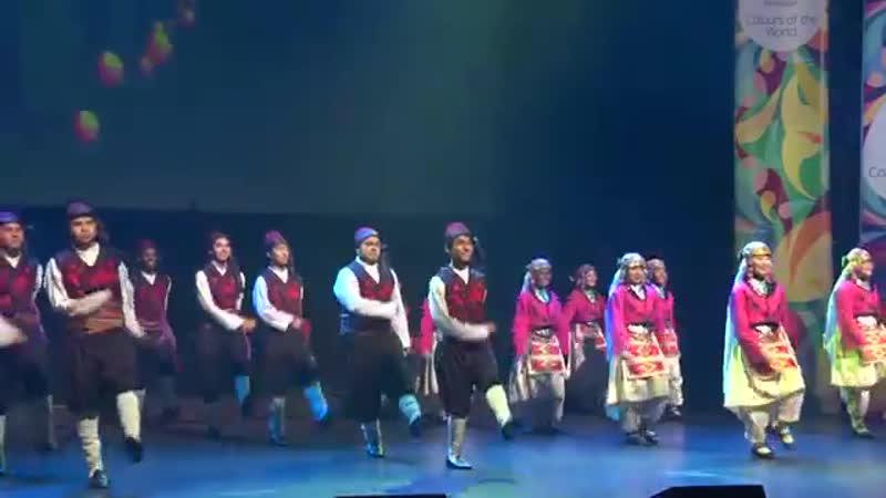 West Coast of Turkey - Turkish Folk Dance _ Texas - USA 2016