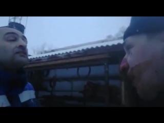 В Новокуйбышевске пятеро пьяных азербайджанцев торговцев  избили начальника добровольной пожарной дружины