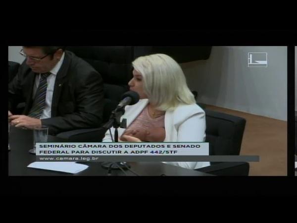 SARA WINTER HUMILHA FEMINISTAS NA CÂMARA DOS DEPUTADOS