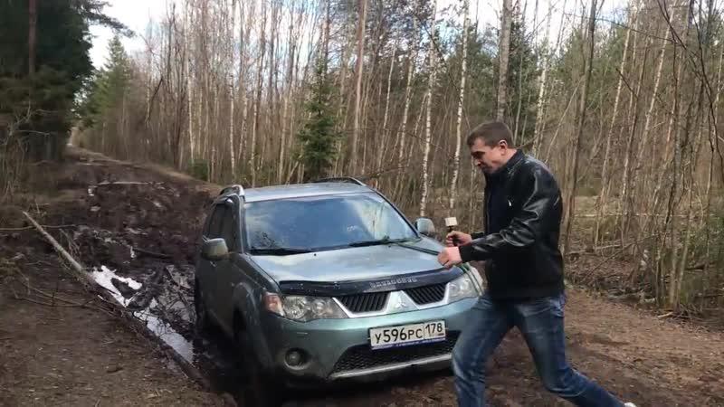 LuxuryCar 2 Off Road Испытание летней резины в грязи Marshal Matrac STX KL12