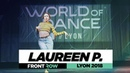 Laureen Parruitte I FRONTROW I World of Dance Lyon 2018