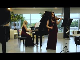 - The flower waltz-Duet Aurores-Piano- Natalia Anufrieva-Violin- Anna Sudareva