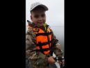 С сыном на рыбалке! Пацан щуку ловит