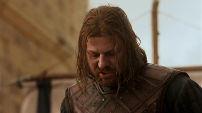 Джоффри Барратеон лишает головы Нэда Старка/Игра престолов/Game of the Throne