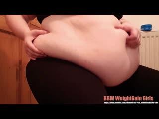 SSBBW Feedee Fat Gaining Girl, CheesecakeChub BEST OF