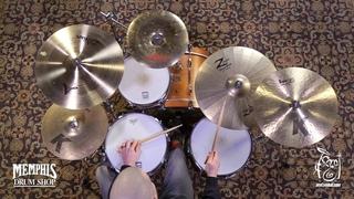 """Used Zildjian 19"""" Z Custom Thrash Ride Cymbal - 2003g (UZIL19ZCTR-1123017CC)"""