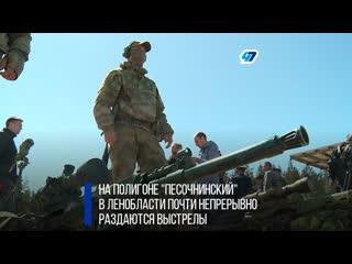 Жаркая пора в центре снайпинга западного военного округа